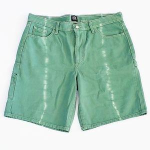 UO BDG Tie Dyed Carpenter Shorts